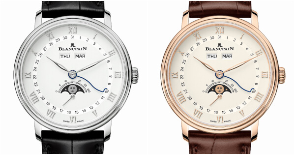 The New Blancpain Villeret Quantième Complet 38 mm (Pictures and Specifications)