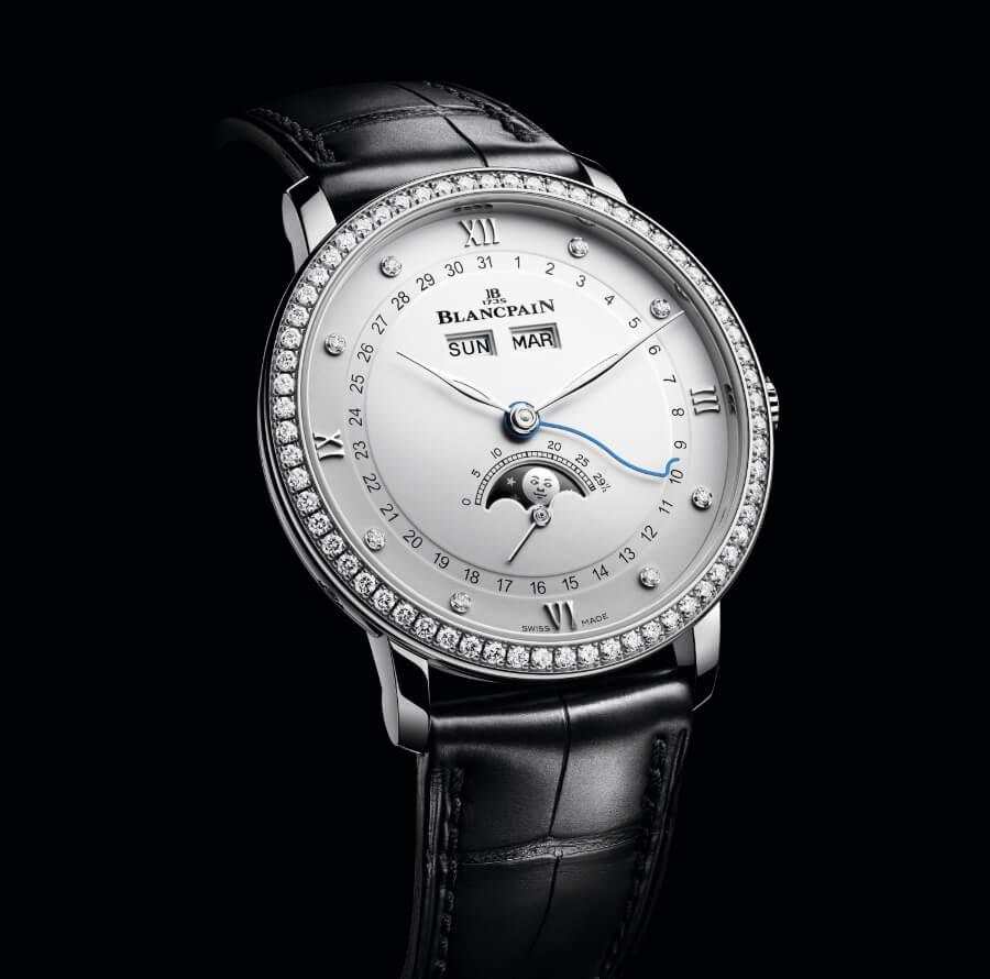 Blancpain Villeret Quantième Complet 38 mm Diamonds