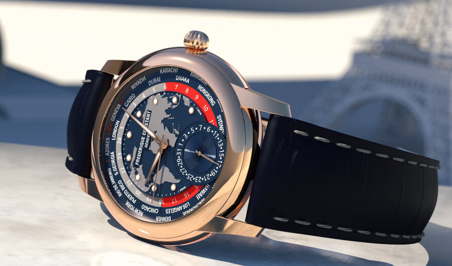 The New Frederique Constant Classic Worldtimer Manufacture Limited Edition