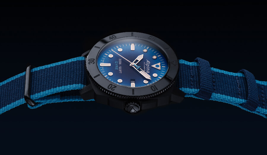 The New Alpina Seastrong Diver Gyre Automatic