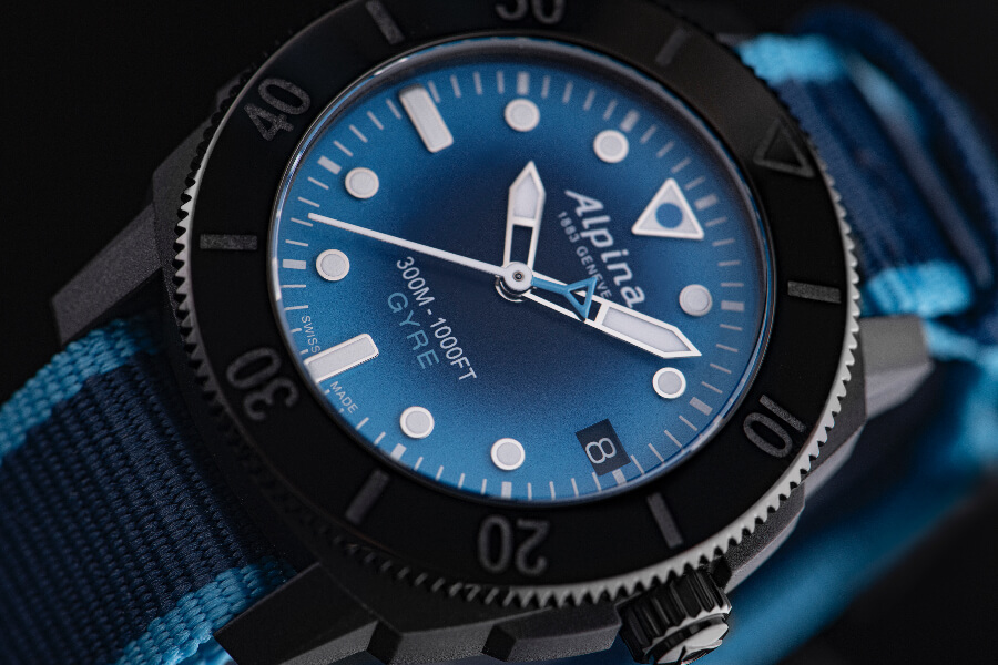 Alpina Seastrong Diver Gyre Automatic Blue dial