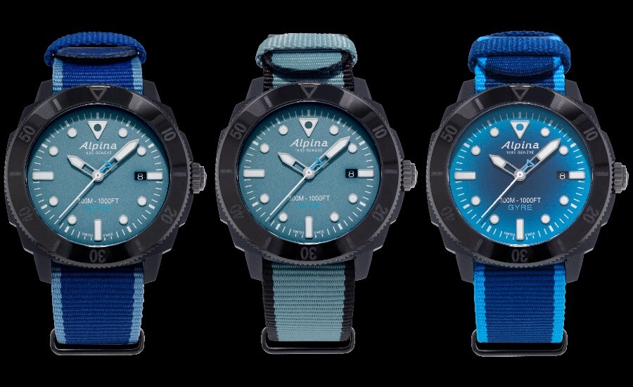 The New Alpina Seastrong Diver Gyre Gents Automatic