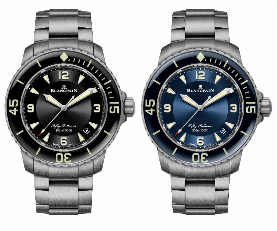Blancpain Fifty Fathoms Automatique Titanium Bracelet