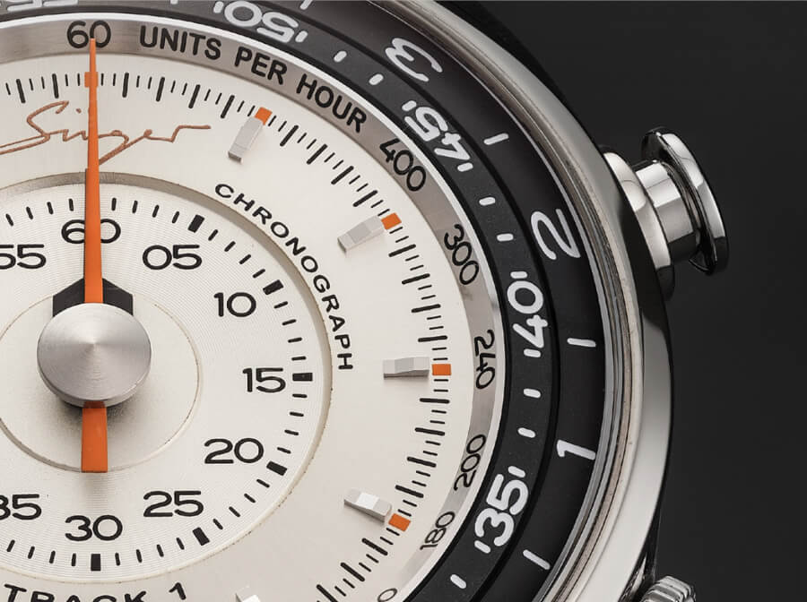 Singer Track1 Prototype Dial chronograph Watch