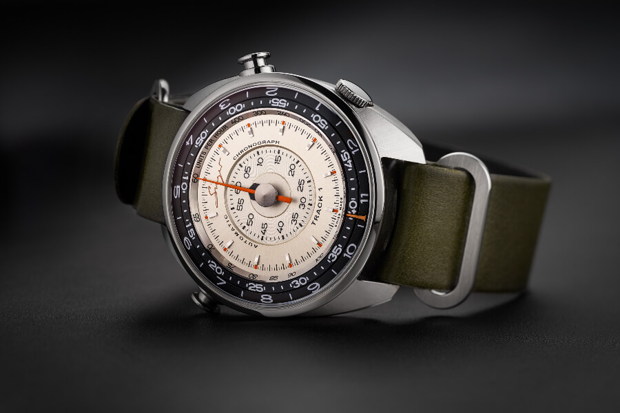 Expensive Chronograph watches Singer Track1 Prototype