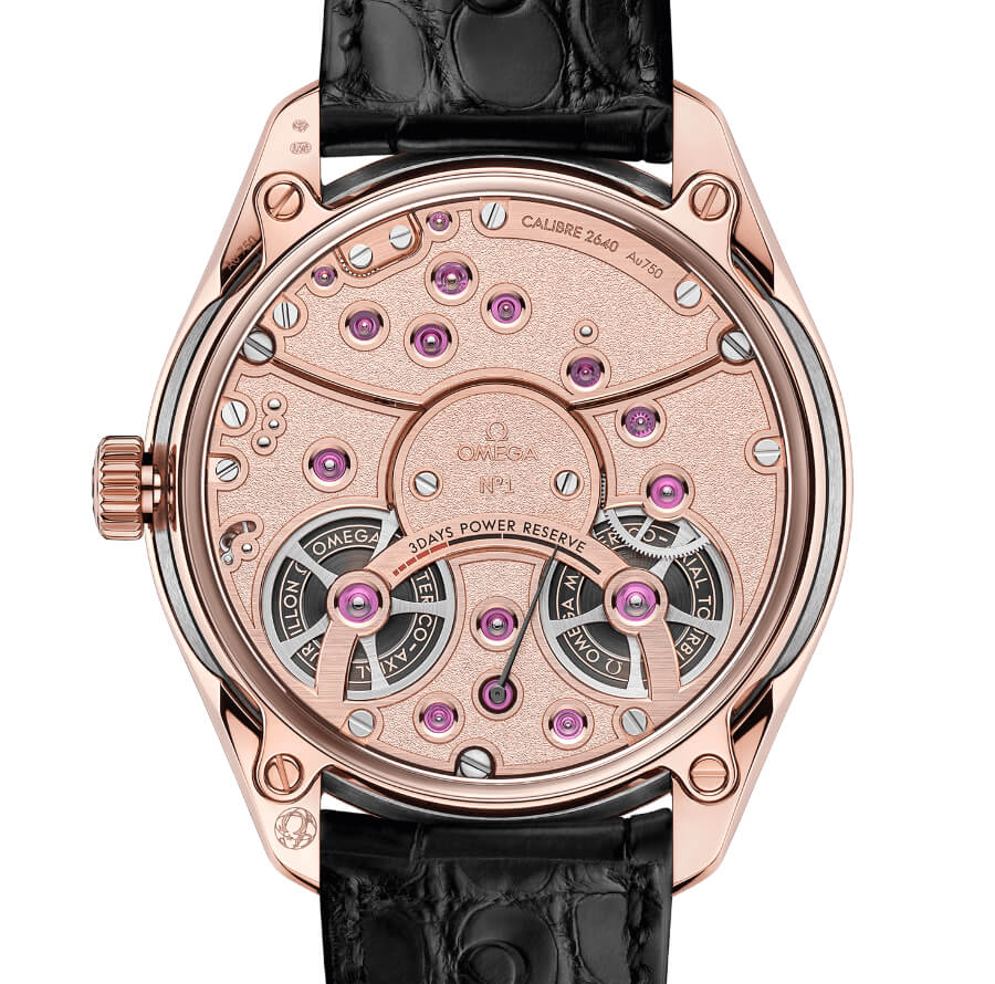 Omega De Ville Tourbillon Co‑Axial Master Chronometer Movement