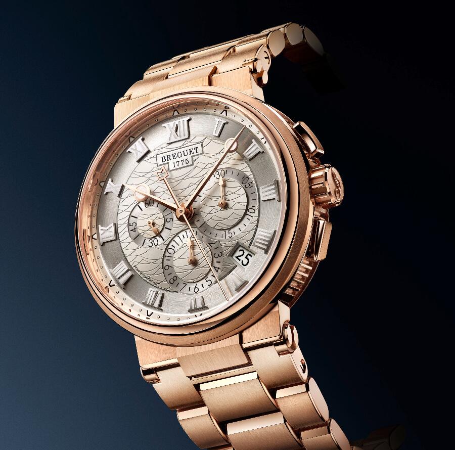 Breguet Marine Chronographe 5527 Watch Review