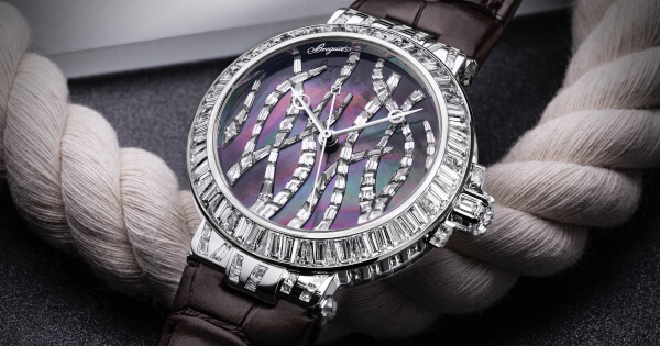 Breguet Marine Haute Joaillerie 9509 Poseidonia (Pictures and Specifications)