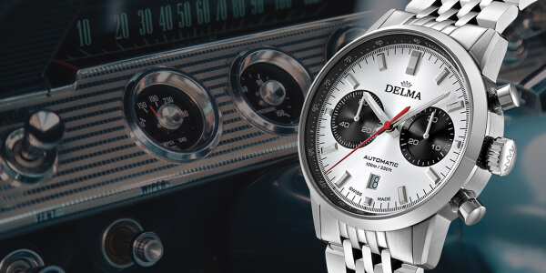 The New Delma Continental Chronograph (Price, Pictures and Specifications)
