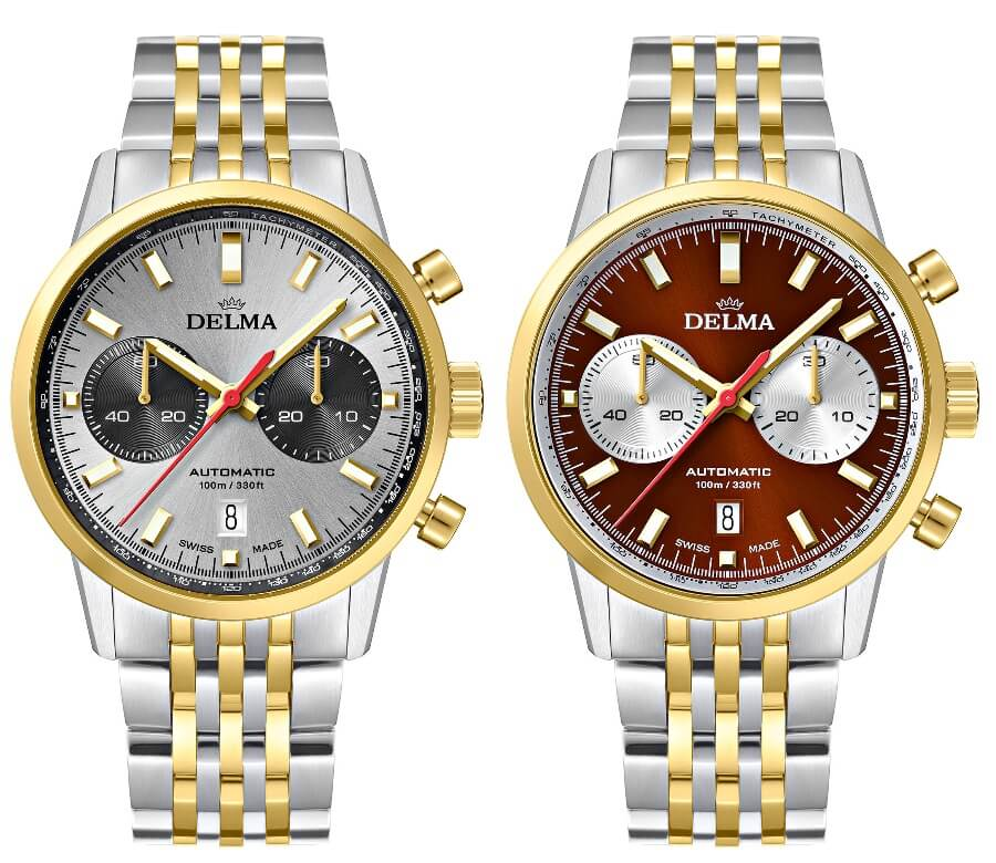Delma Continental Chronograph Gold