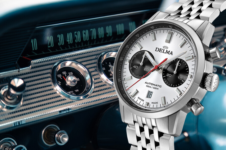 Delma Continental Chronograph Watch Review