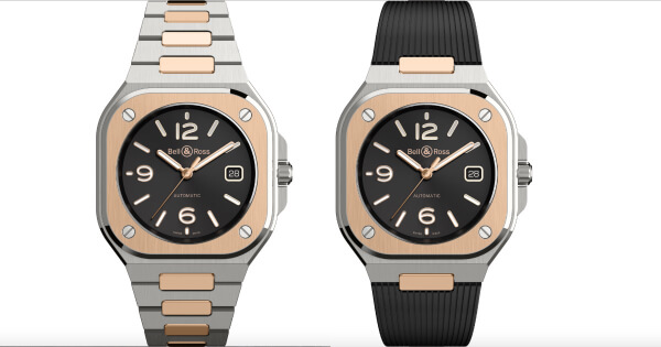 Bell & Ross BR05 Black Steel & Gold (Price, Pictures and Specifications)