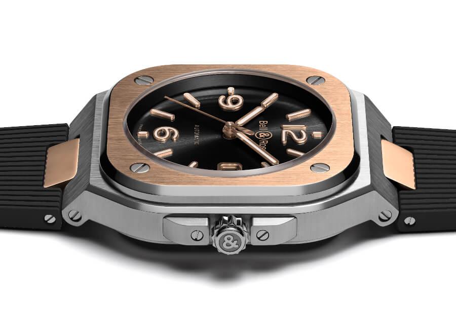 Bell & Ross BR05 Black Steel & Gold Case