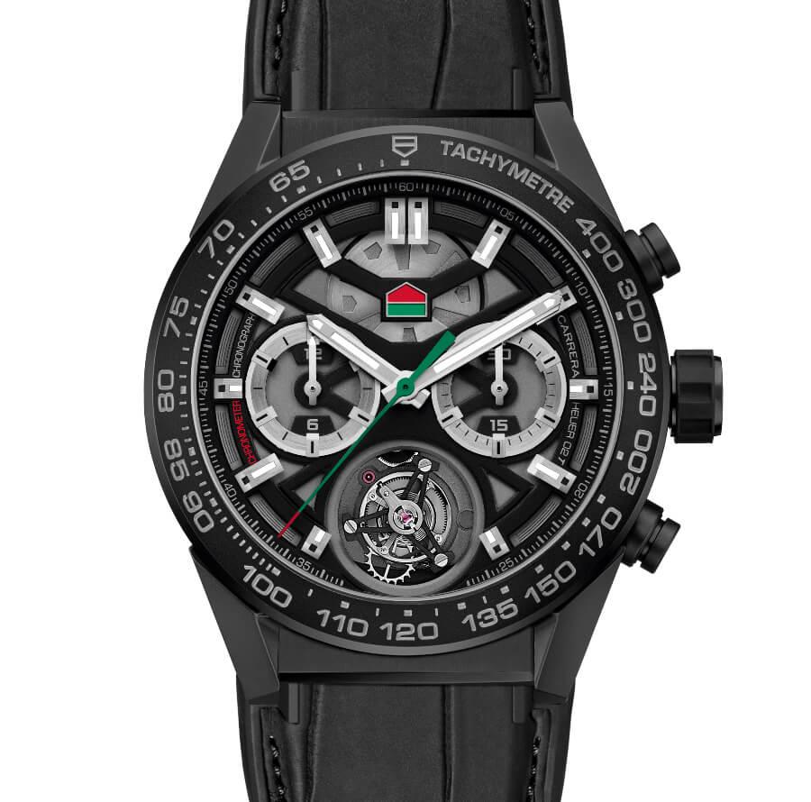 "The New TAG Heuer Carrera Chronograph Calibre Heuer 02 Tourbillon ""ODD BALLS"" Edition"