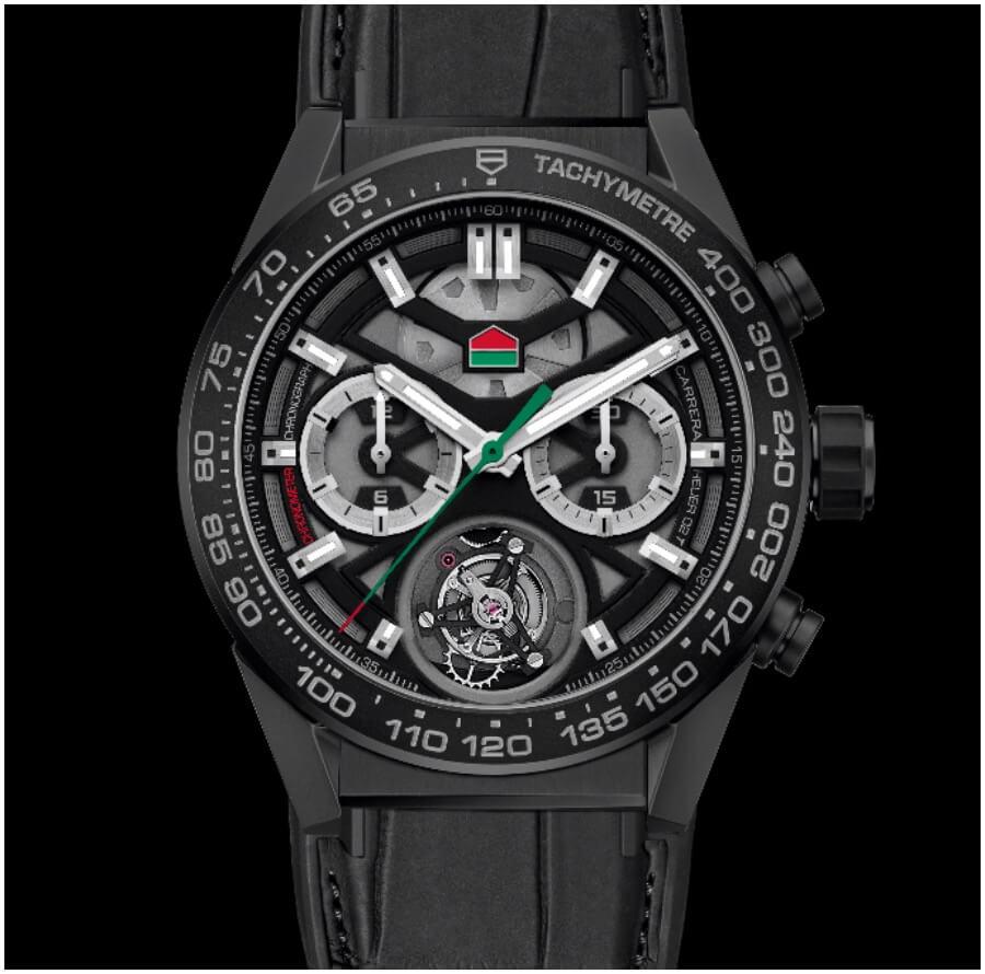 "TAG Heuer Carrera Chronograph Calibre Heuer 02 Tourbillon ""ODD BALLS"" Edition Watch Review"