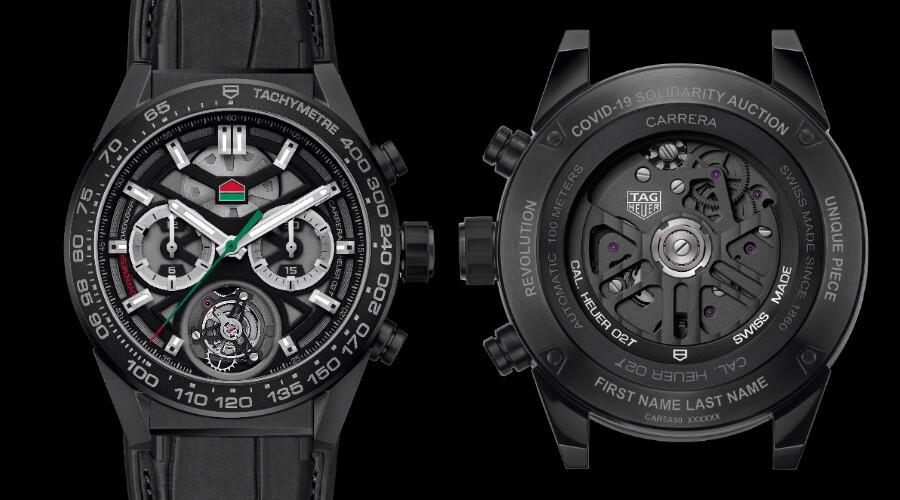 """Men Watches TAG Heuer Carrera Chronograph Calibre Heuer 02 Tourbillon """"ODD BALLS"""" Edition"""