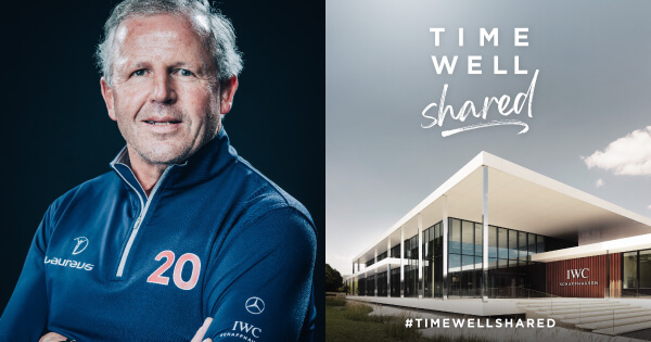 #Timewellshared With Laureus World Sports Academy Chairman And Rugby Legend Sean Fitzpatrick
