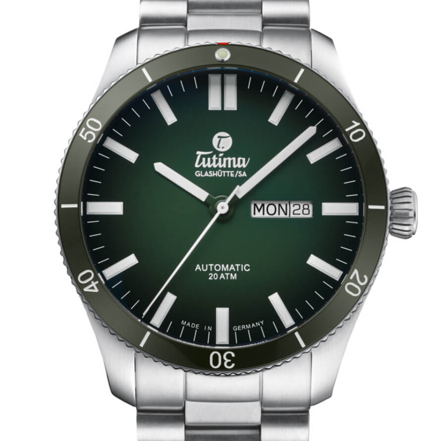 The New Tutima Grand Flieger Airport Green Dial