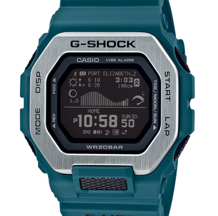 The New Casio G-Shock G-Lide GBX100