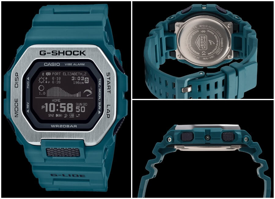 Casio G-Shock G-Lide GBX100 Watch Review
