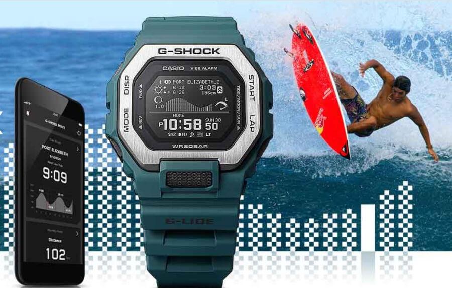 Top Best Smartwatches Casio G-Shock G-Lide GBX100