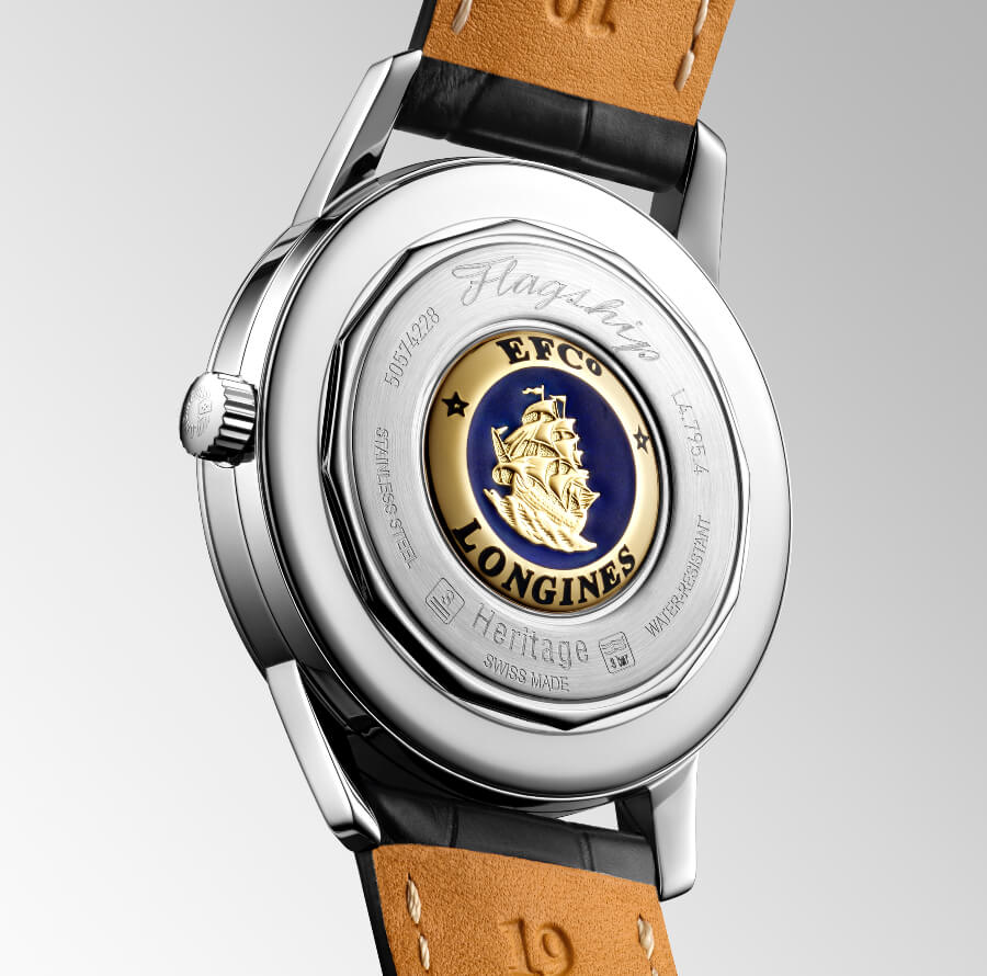 Longines Flagship Heritage Case Back