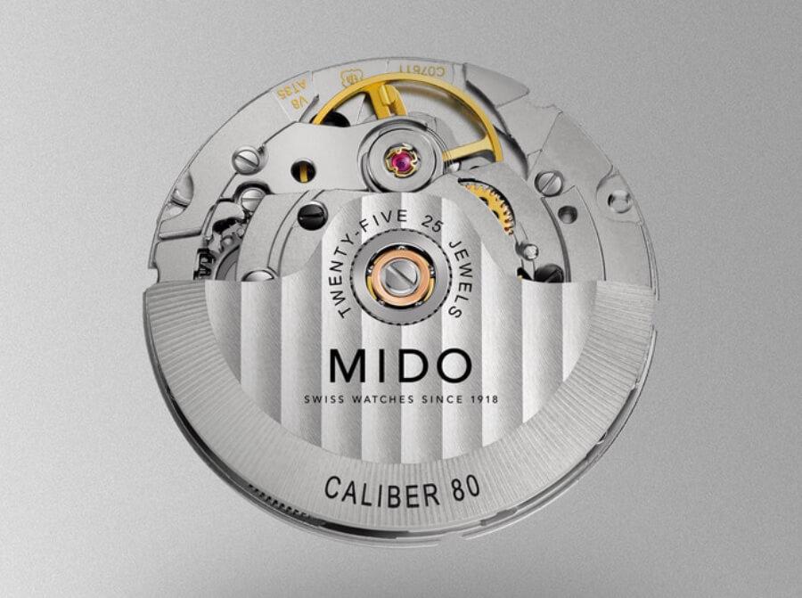 Mido Caliber 80