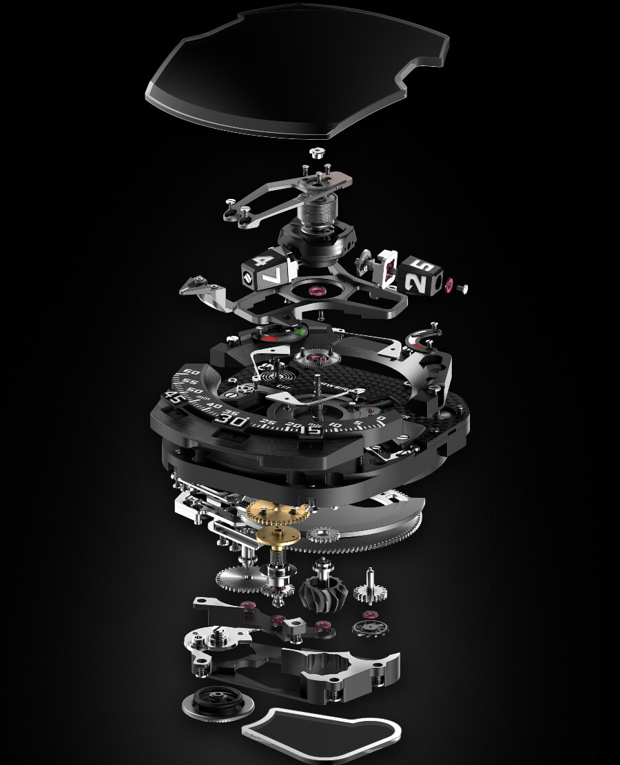 Urwerk UR-210 Last Edition Movement
