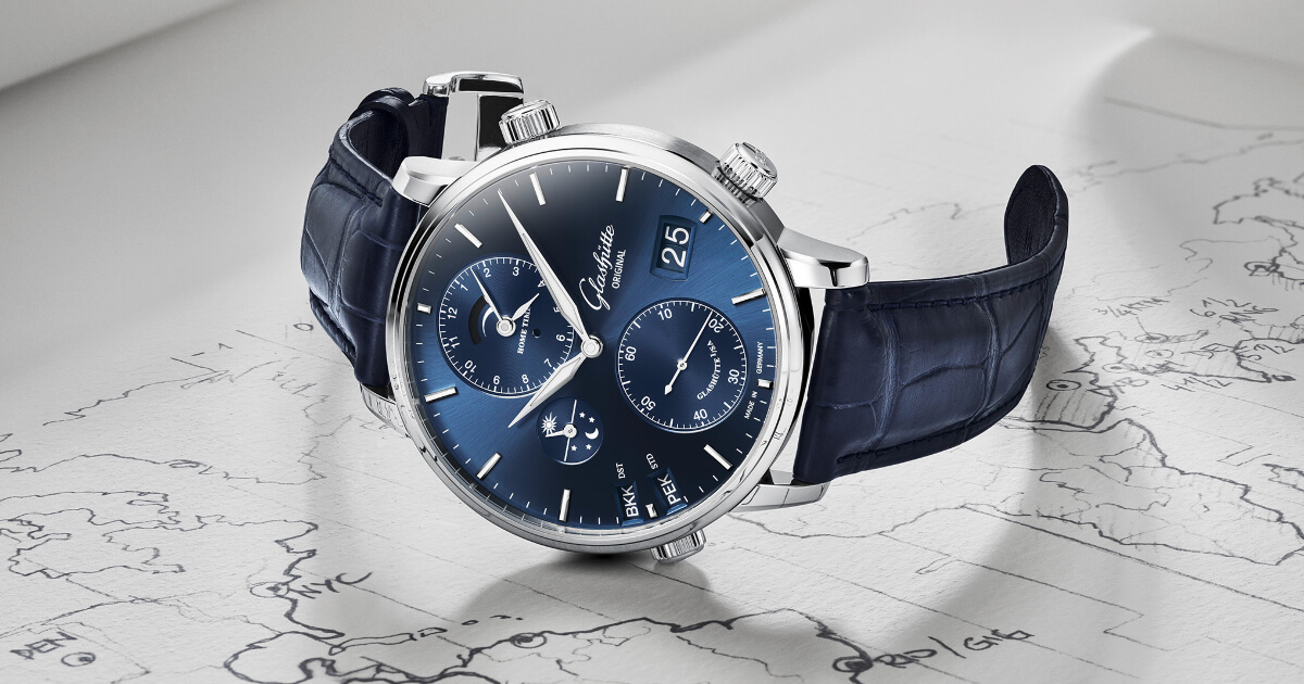 Glashütte Original Senator Cosmopolite In Midnight Blue (Price, Pictures and Specifications)