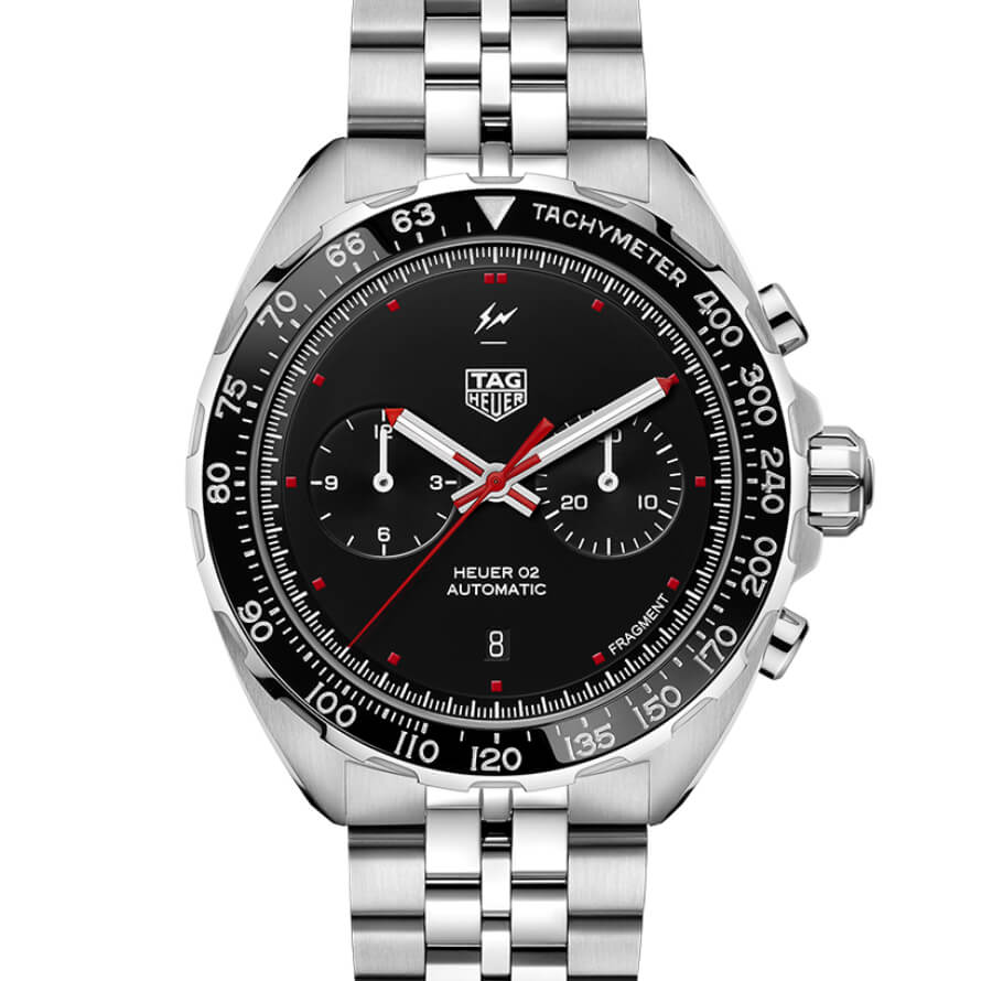 The New TAG Heuer x Fragment Design Calibre Heuer 02 Automatic Chronograph