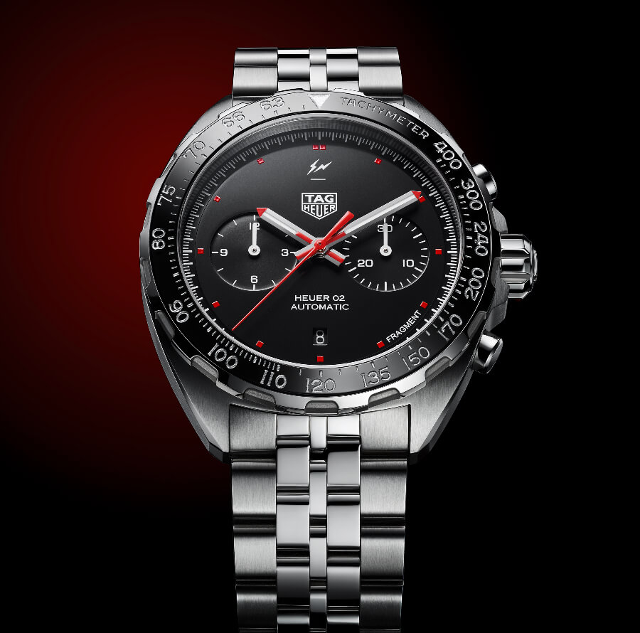 TAG Heuer x Fragment Design Calibre Heuer 02 Automatic Chronograph Watch Review