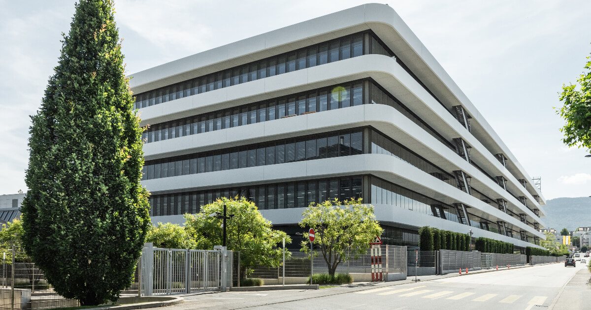 The New Patek Philippe Production Building In Geneva