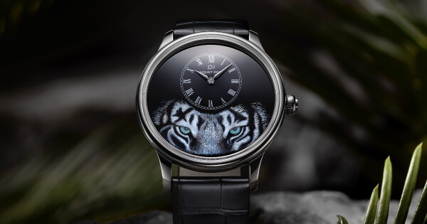 "Jaquet Droz Petite Heure Minute ""Tiger"" (Price, Pictures and Specifications)"