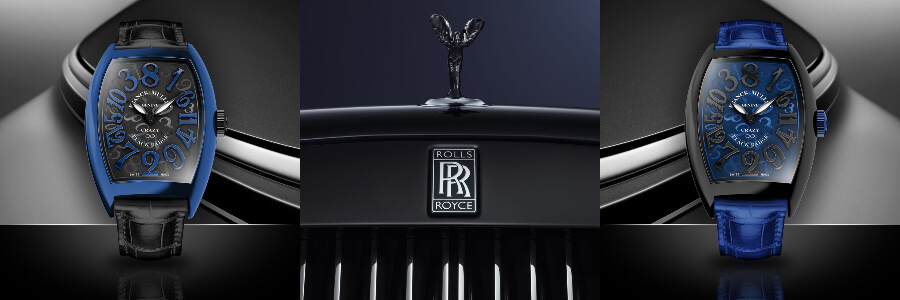 Rolls-Royce Wraith inspired by Franck Muller ́s Crazy Hours