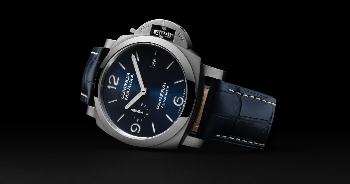 The New Panerai Luminor Marina PAM01313 – 44 MM (Price, Pictures and Specifications)