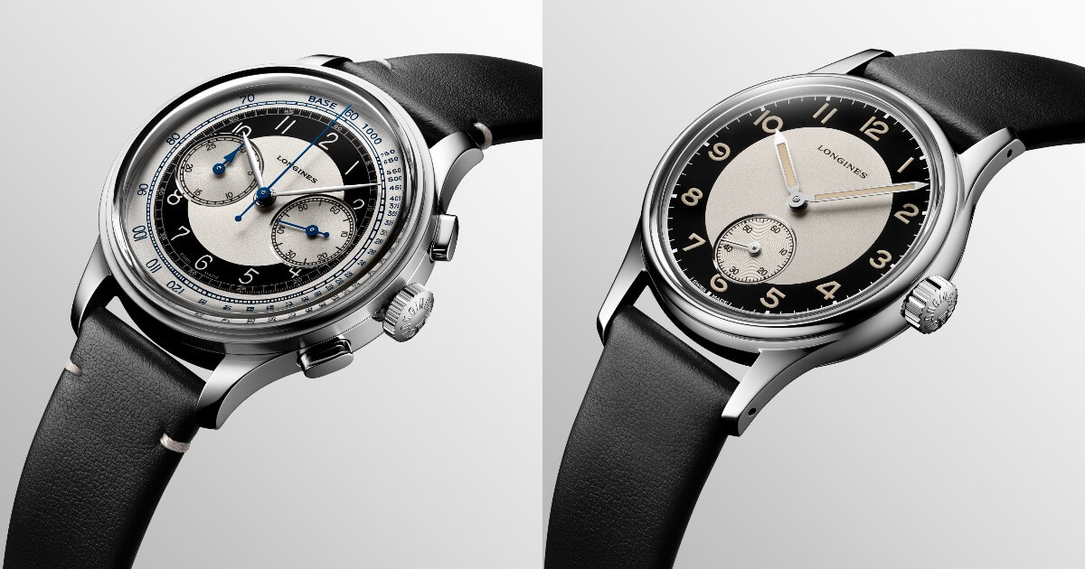 The New Longines Heritage Classic Tuxedo Collection (Price, Pictures and Specifications)