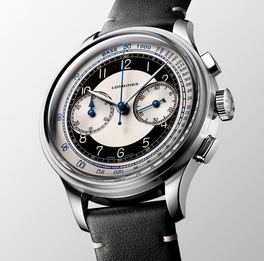 Longines Heritage Classic Tuxedo Chronograph Watch Review