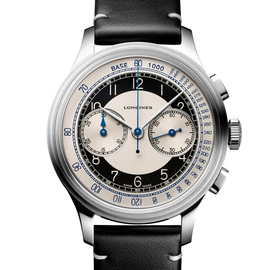 The New Longines Heritage Classic Tuxedo Chronograph