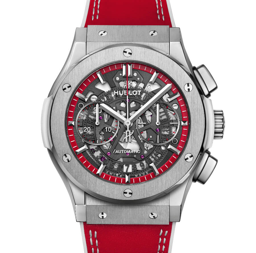 The New Hublot Classic Fusion Aerofusion Chronograph Special Edition Boutique Monaco