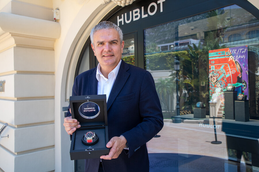 Ricardo Guadalupe, CEO Hublot