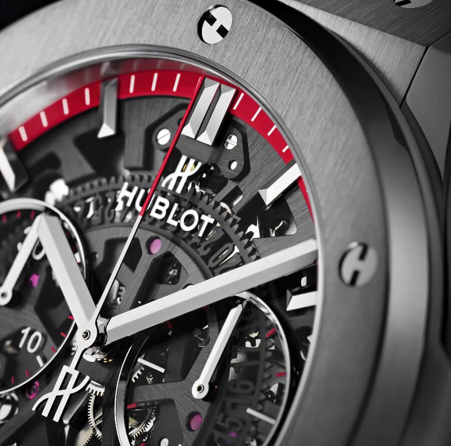 Hublot Classic Fusion Aerofusion Chronograph Special Edition Boutique Monaco Dial