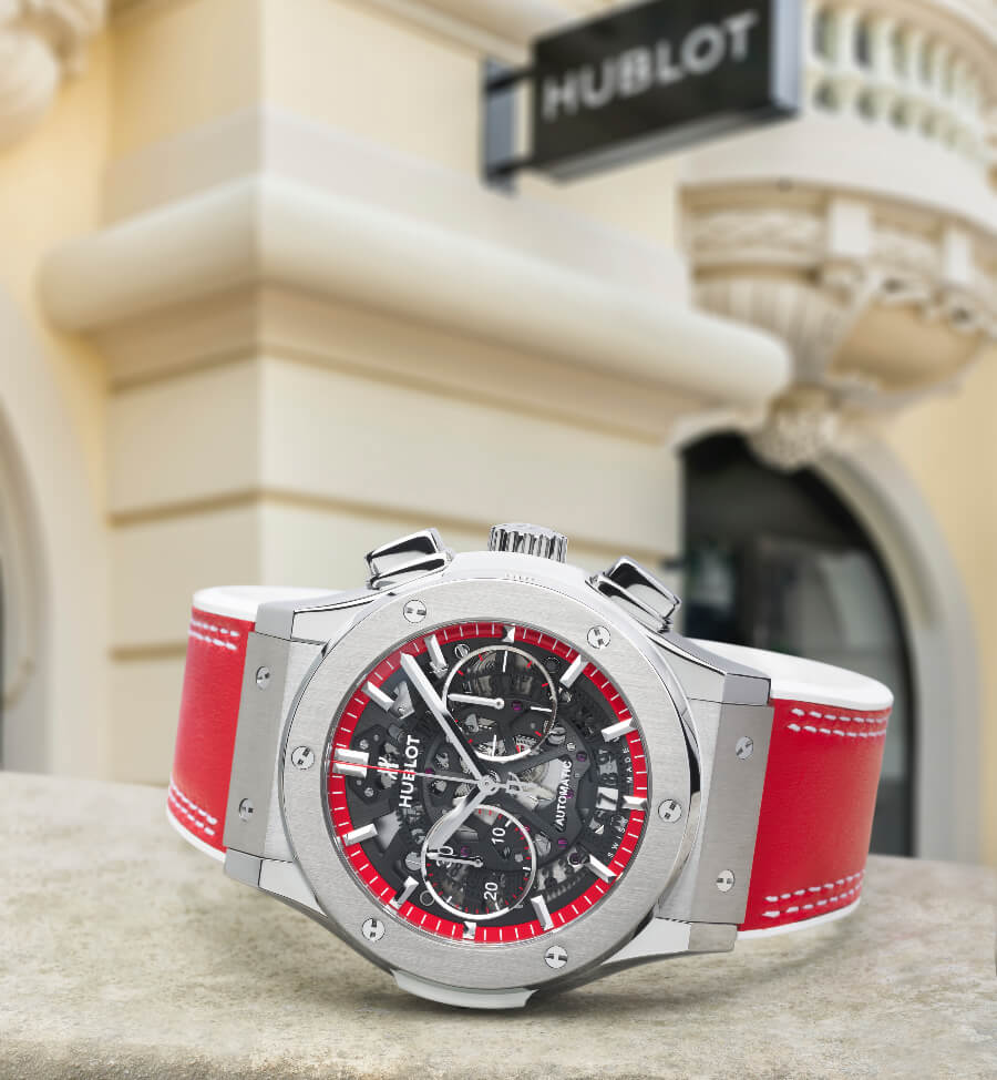 Hublot Classic Fusion Aerofusion Chronograph Special Edition Boutique Monaco Watch Review