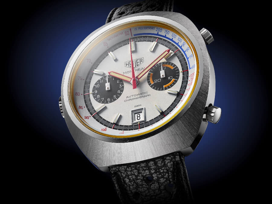 White Heuer Montreal, reference 110503W for sale