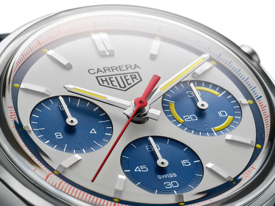 TAG Heuer Carrera 160 Years Montreal Limited Edition Dial