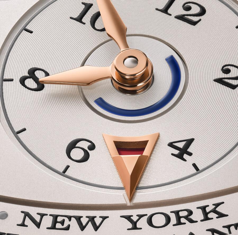 The new A. Lange & Söhne daylight saving time indication