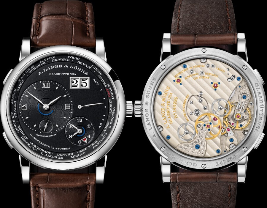 A. Lange & Söhne Lange 1 Time Zone Ref. 136.029 watch Review