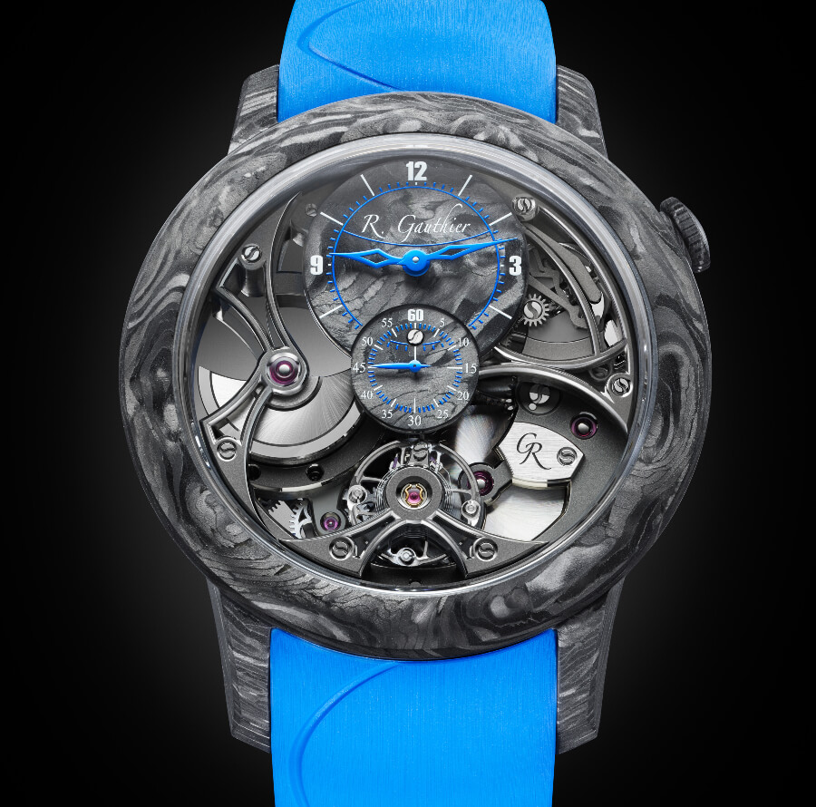 Romain Gauthier Insight Micro-Rotor Squelette Manufacture-Only Carbonium Edition