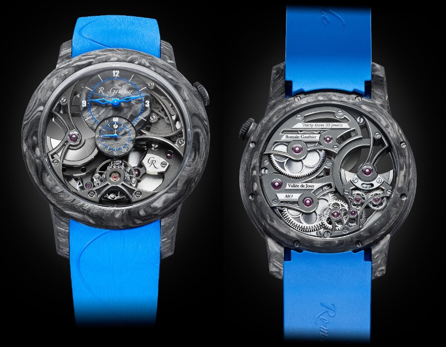 Romain Gauthier Insight Micro-Rotor Squelette Manufacture-Only Carbonium Edition Watch Review