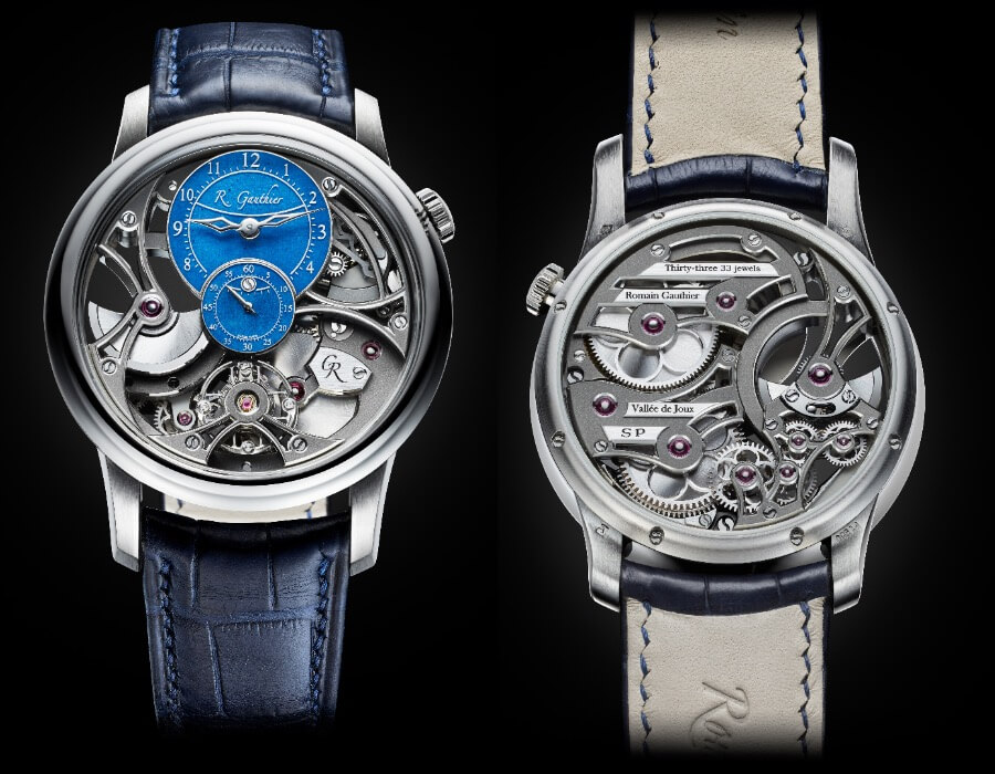 Romain Gauthier Insight Micro-Rotor Squelette Special Orders Platinum Watch Review