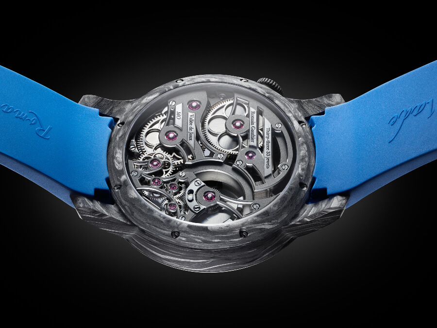 Romain Gauthier Insight Micro-Rotor Squelette Manufacture-Only Carbonium Edition Movement